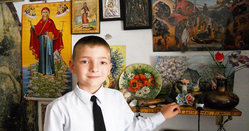 Cutremurător! Povestea reală a lui Ioan Năstase, copilul care vrea să se facă sfânt: