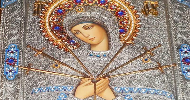Rugăciunea la Maica Domnului cu 7 săgeți care face minuni pe 2 februarie!