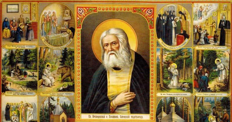 Scurtă pravilă de rugăciune foarte folositoare a Sfântului Serafim de Sarov! Să urmăm și noi acest program scurt de rugăciune și o să vedem minuni în viața noastră!