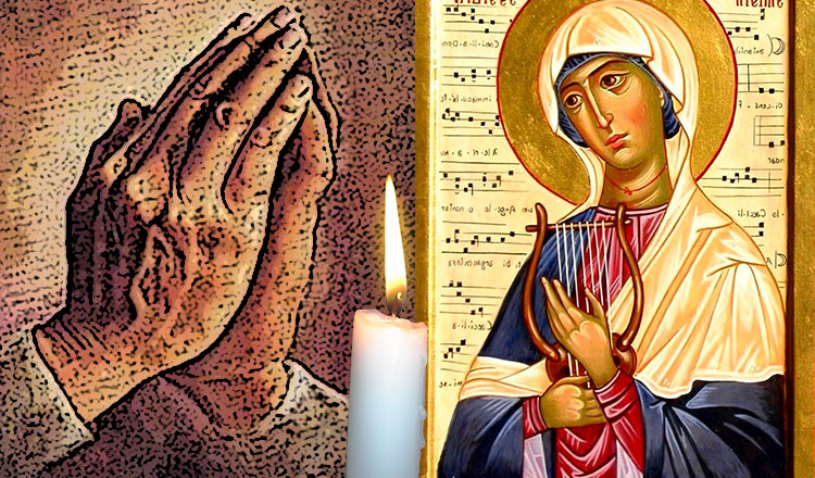 Rugăciunea sfintei Cecilia aduce liniște în căsniciile cu probleme! Când trebuie citită…