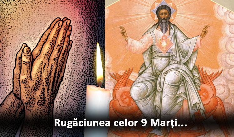 Rugăciunea de grabnic ajutor a celor 9 Marți…