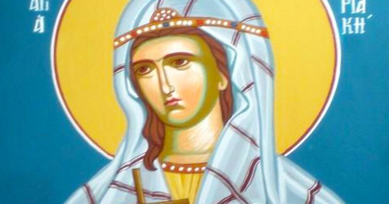 Rugăciune extrem de puternică care se spune azi, 7 iulie, de 3 ori, dis-de-dimineață! Sfânta Chiriachi, dă-ne ajutorul tău grabnic, de ziua ta mare!