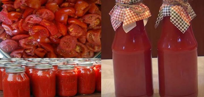 Secretul unui suc de roșii făcut in casa fără conservanți – delicios de te lingi pe degete :