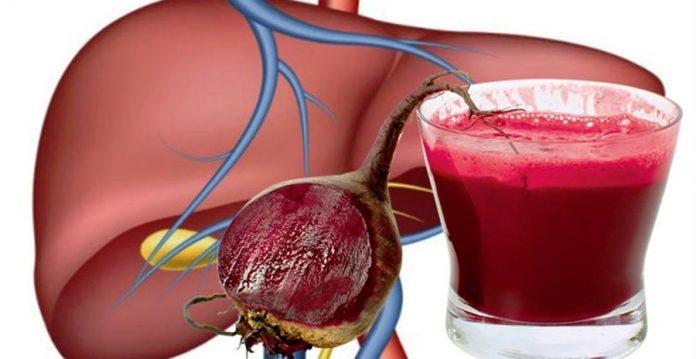 Modul corect de a consuma sfecla roşie pentru întărirea ficatului
