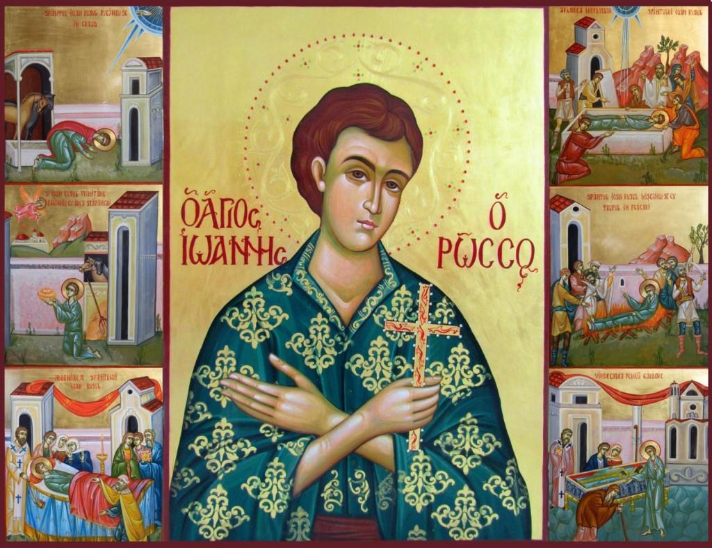 Rugăciune către Sfântul Ioan Rusul, mare făcător de minuni şi grabnic-ajutător, care se citeşte la vreme de boală: