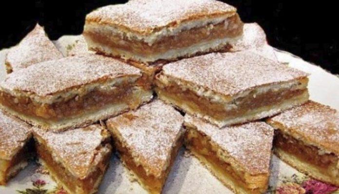 O rețetă delicioasă – Placintă cu mere, pentru cei ocupati, gata în doar câteva minute