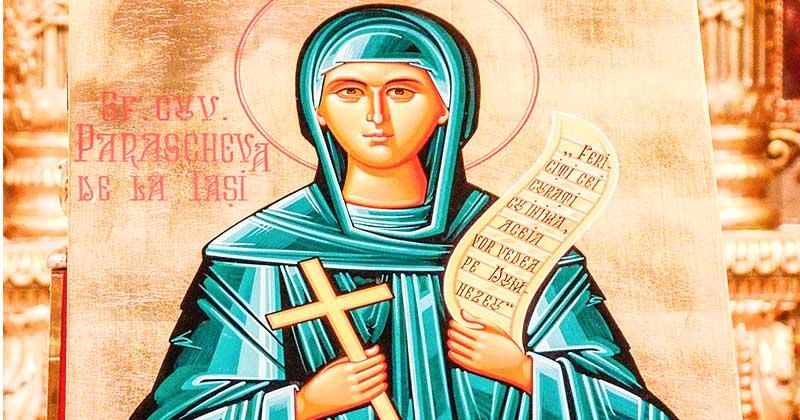 """Minunile Sfintei Cuvioase Parascheva: """"Dacă vrei să fie sănătos copilul tău, să vii la mine!"""""""