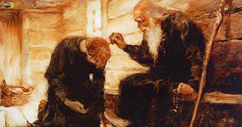 Demult, un om a venit la un călugăr şi l-a întrebat: – Ce este rău la mine? De ce nu îmi găsesc liniştea? De ce nu sunt mulţumit de viaţa mea? Răspunsul acesta schimbă vieți: