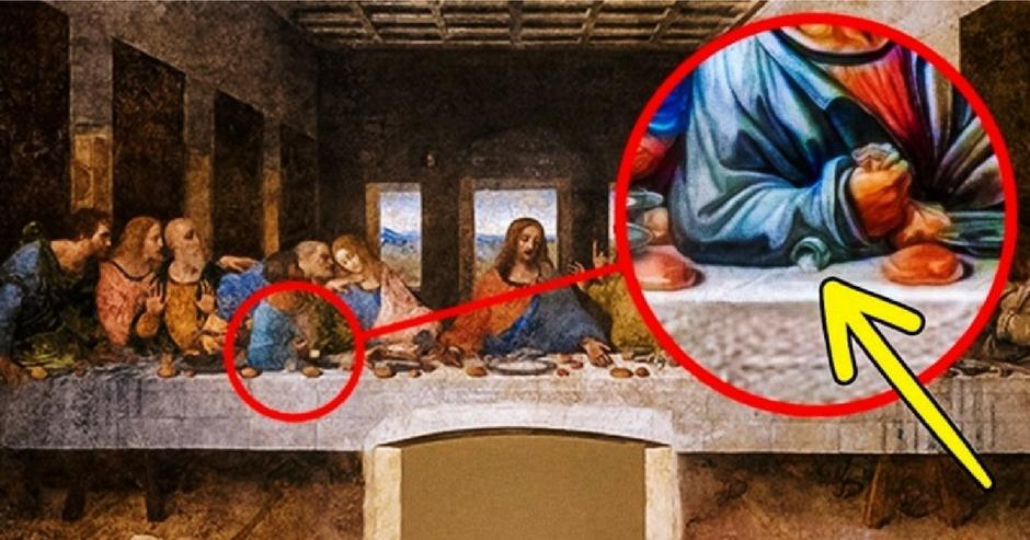Rămâi fără cuvinte! Povestea din spatele picturii Cina cea de Taină a lui Da Vinci. Mistere ascunse în în compoziţia pictorului