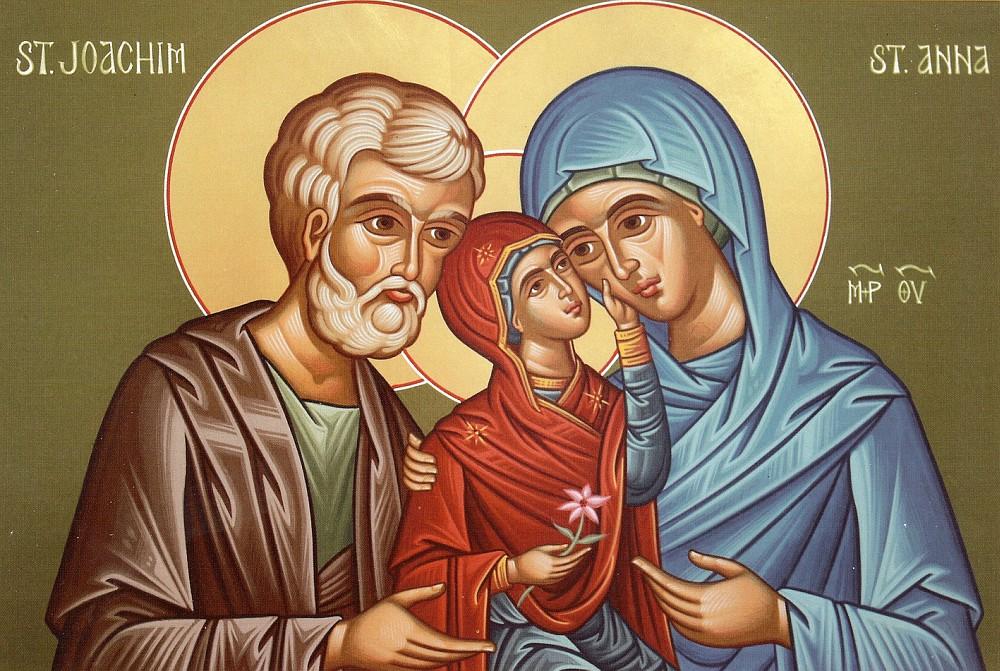 Rugăciune mare către Sfinții Părinți ai Maicii Domnului, sărbătoriţi azi, 9 septembrie!