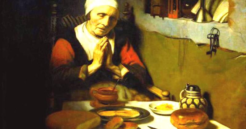 Rugăciunile mesei – Înaintea gustării de dimineaţă