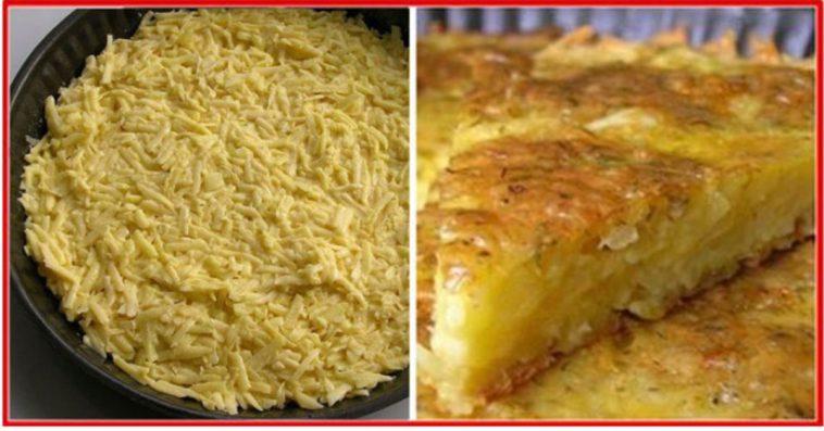 Daca ai cativa cartofi si putin cascaval – in 40 de minute ai pregatit o cina delicioasa