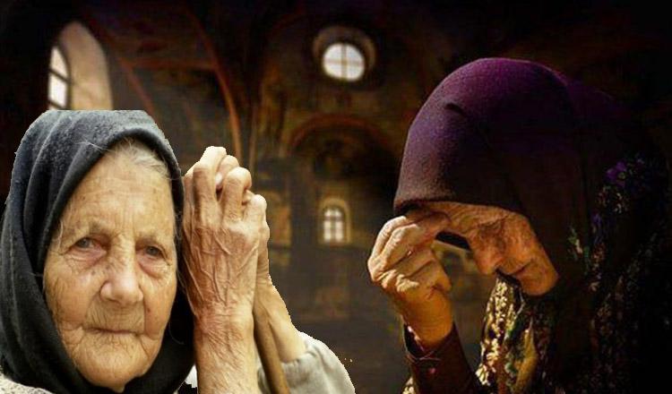 Când mergi la biserică, nu privi la nimeni, roagă-te cu ochii închişi!