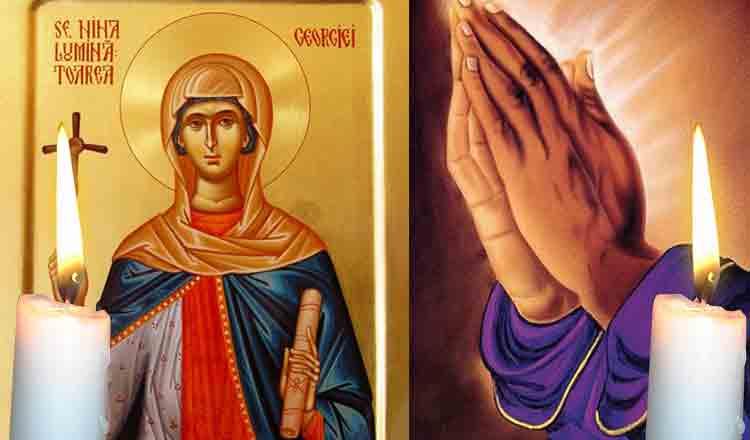 Rugăciune către Sfânta Nina, cea întocmai cu Apostolii, îndepărtează tot necazul și nevoia!