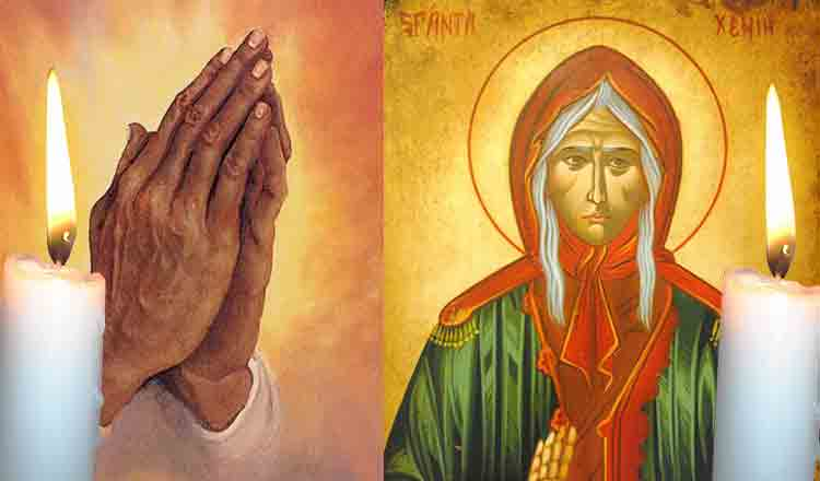 Citită azi, 24 ianuarie, Rugăciunea Sfintei Xenia ajută orice credincios în momente de cumpănă!