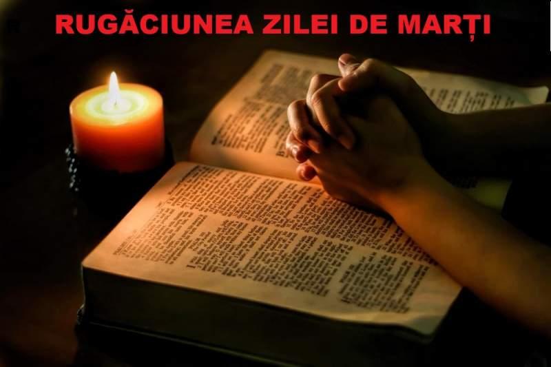 Rugaciunea zilei de Marti – Spune aceasta rugaciune scurta in fiecare dimineata de marti