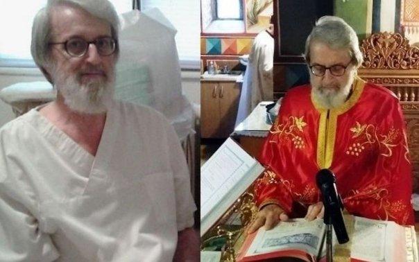 Cinste acestui parinte! Doctorul de trup si de suflet. Un medic specialist in ecografie se transforma in preot in fiecare duminica si slujeste la biserica de langa Spitalul Constanta