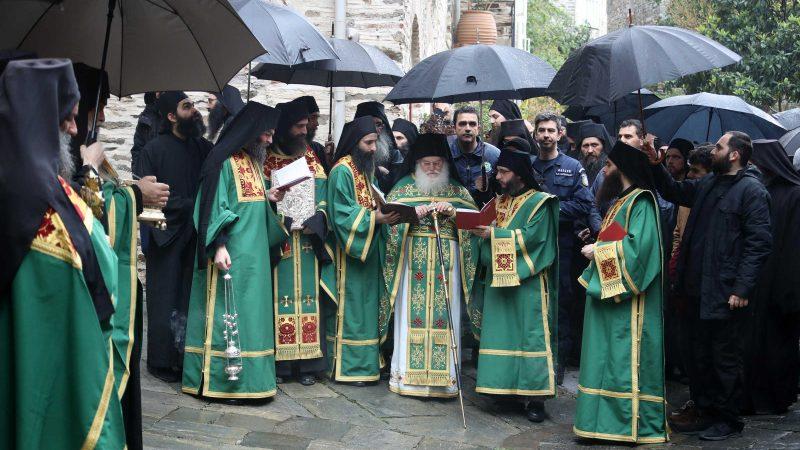 Toți monahii din Sfântul Munte s-au rugat pentru încetarea pandemiei