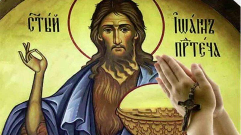 29 august, Taierea capului Sfantului Ioan Botezatorul. Cea mai puternica rugaciune pe care s-o rostesti in aceasta zi